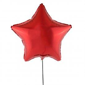 Czerwony Balon Gwiazda 46 cm