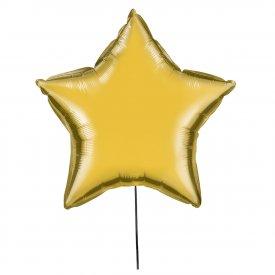 Złoty Balon Gwiazda 46 cm