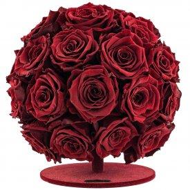 Czerwona Kula z Róż