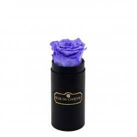 Eternity Lavender Rose & Mini Black Flowerbox