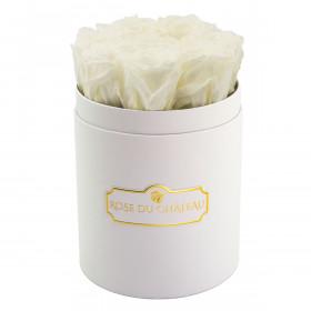 Eternity White Roses & Small White Flowerbox