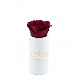 Eternity Red Rose & Mini White Flowerbox