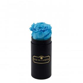 Eternity Azure Rose & Mini Black Flowerbox