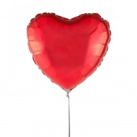 Heart-Shaped Red Balloon 46 cm