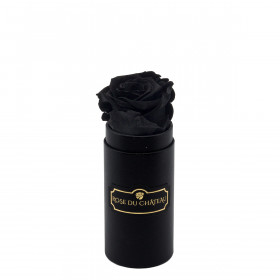 Eternity Black Rose & Mini Black Flowerbox