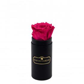 Eternity Pink Rose & Mini Black Flowerbox